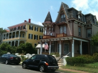 19th-century buildings, Cape May, N.J.